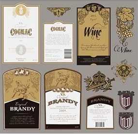 Изготовление самоклеящихся этикеток для алкогольных напитков