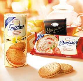 Изготовление гибкой рулонной упаковки для печенья и вафель