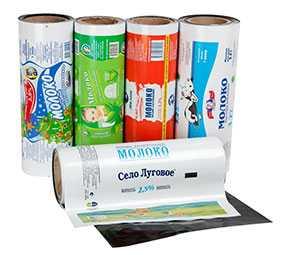 Изготовление гибкой рулонной упаковки для молочной продукции