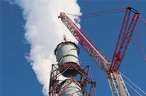 Строительство металлических дымовых труб
