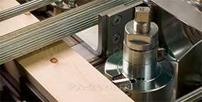 Обработка древесины на четырехстороннем строгальном станке