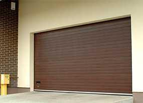 Изготовление и монтаж гаражных ворот ALUTECH (серия TREND)