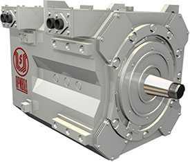 Капитальный ремонт тяговых двигателей ЭДУ-133Р