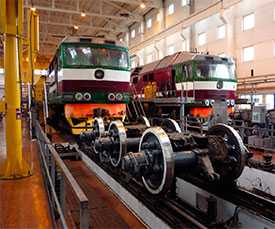Гальванопокрытие деталей локомотивов