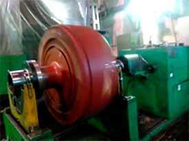 Текущий ремонт с последующей балансировкой генераторов ГС-501