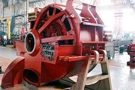Текущий ремонт с последующей балансировкой генераторов АСТМ 2800/600