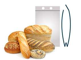 Изготовление полипропиленовых пакетов с отрывным клапаном (перфорация на клапане) для упаковки хлебобулочных изделий