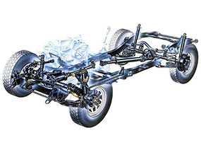 Ремонт ходовой части легкового автомобиля любой сложности