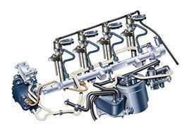 Ремонт и диагностика топливных систем форсунок Common rail для грузовых автомобилей
