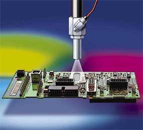Нанесение защитных покрытий на радиоэлектронные изделия