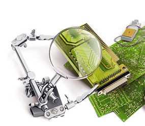 Оптический контроль готовых радиоэлектронных изделий после монтажа