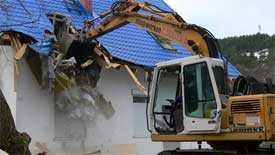Подготовка здания (сооружения) к предстоящему сносу