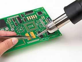 Ручной монтаж DIP-компонентов радиоэлектронных изделий