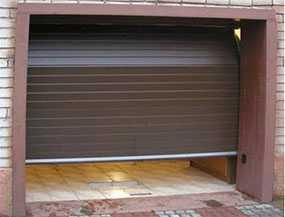 Установка (монтаж) секционных гаражных ворот ALUTECH (серия Standard)