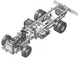 Ремонт ходовой части грузового автомобиля
