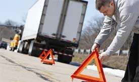 Оказание автопомощи и техпомощи грузовым автомобилям на дорогах