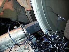 Обточка колесных пар без выкатки из под тягово-подвижного состава