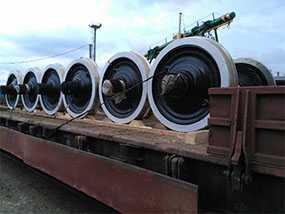 Обыкновенное освидетельствование колесных пар тягово-подвижного состава