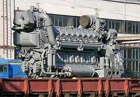 Текущий ремонт дизеля 1А-9ДГ в объеме ТР-3