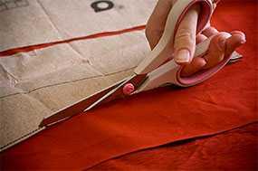 Раскрой ткани любой сложности