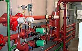 Проведение испытаний приборов учёта тепловой энергии