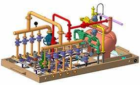 Поставка микрогазотурбинных установок (МГТУ) для электростанций и мини-ТЭC