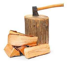 Заготовка дров, древесины