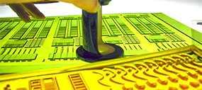 Производство флексографских печатных форм (клише) по аналоговой технологии