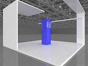 Изготовление выставочных стендов из оборудования STANDEX и CONSTA