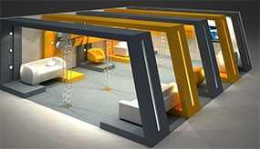 Аренда выставочного оборудования и мебели