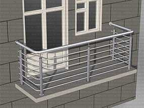 Изготовление балконных ограждающих решеток из нержавеющей стали