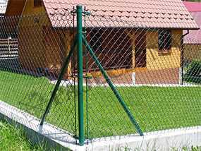 Изготовление ворот и калиток из сетки рабицы