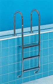Изготовление лестниц для бассейнов из нержавеющей стали