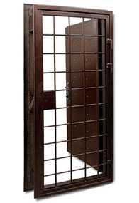 Изготовление дверей-решеток из нержавеющей стали