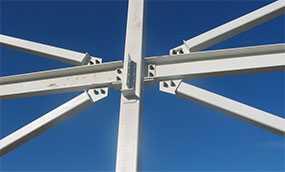 Производство стальных связей зданий и сооружений из металлоконструкций