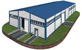 Возведение зданий и сооружений из металлоконструкций под ключ