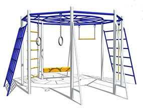Изготовление инвентаря для детских надворных площадок