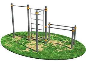 Изготовление лестниц и турников для детских площадок
