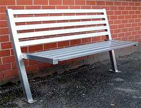 Изготовление сварных металлических скамеек