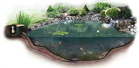 Устройство прудов