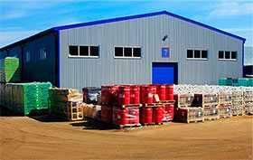 Хранение грузов на открытых площадках