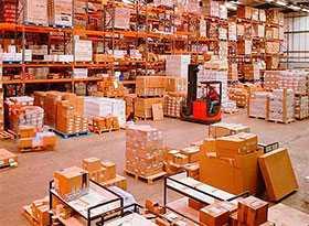 Хранение грузов на закрытых площадках