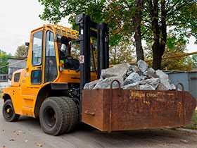 Погрузка (разгрузка) грузов автопогрузчиком Амкадор