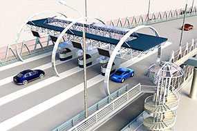 Проектирование установок систем оплаты на автомобильных дорогах («платные дороги»)