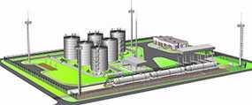 Проектирование базы нефтепродуктов (нефтебазы)