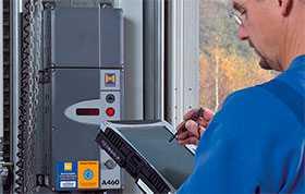 Сервисное обслуживание перегрузочного оборудования Hörmann