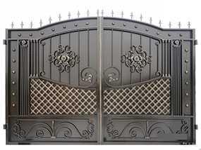 Изготовление кованых ворот по индивидуальному заказу