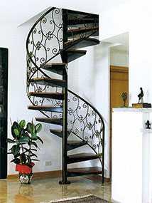 Изготовление кованых лестниц