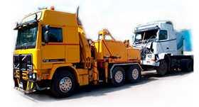 Буксировка грузового автотранспорта