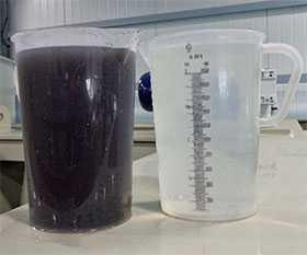 Отбор проб и испытания на соответствие показателям радиационной безопасности сточные вод и их осадков